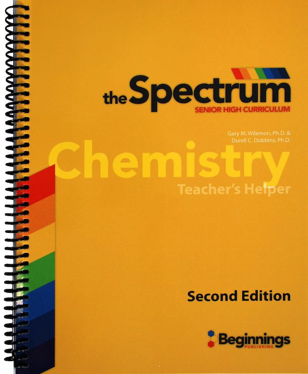 Spectrum Chemistry - Teacher's Helper - Beginnings Publishing